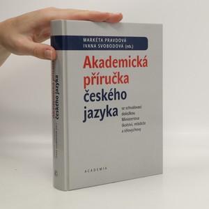 náhled knihy - Akademická příručka českého jazyka