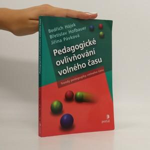 náhled knihy - Pedagogické ovlivňování volného času