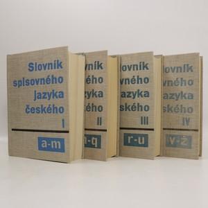 náhled knihy - Slovník spisovného jazyka českého (I. - IV.díl, 4 svazky, komplet)