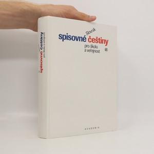 náhled knihy - Slovník spisovné češtiny pro školu a veřejnost