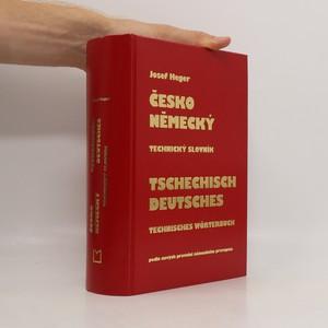náhled knihy - Česko-německý technický slovník