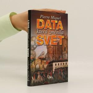 náhled knihy - Data, která změnila svět