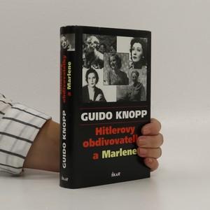 náhled knihy - Hitlerovy obdivovatelky a Marlene