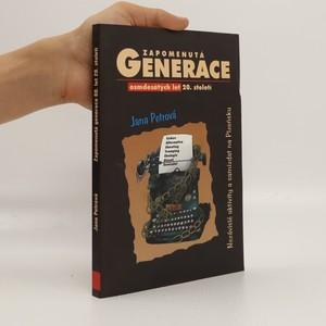 náhled knihy - Zapomenutá generace 80. let 20. století