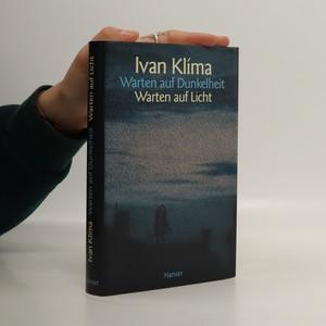náhled knihy - Warten auf Dunkelheit, Warten auf Licht