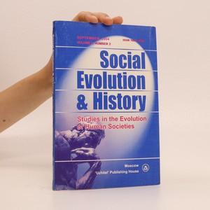 náhled knihy - Social Evolution & History