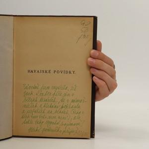 antikvární kniha Havaiské povídky, 1921