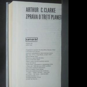 antikvární kniha Zpráva o třetí planetě, 1982