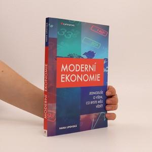 náhled knihy - Moderní ekonomie