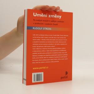 antikvární kniha Umění změny, 2011