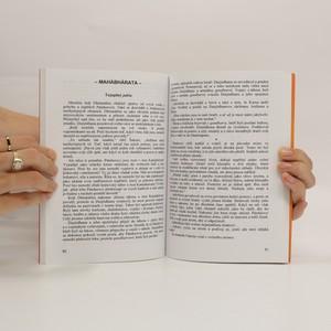 antikvární kniha Mahábhárata, 2001