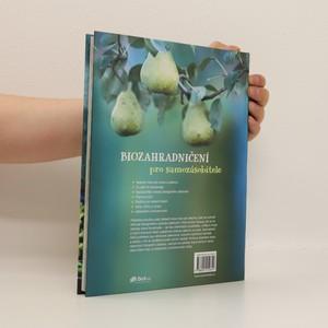 antikvární kniha Biozahradničení pro samozásobitele, 2016