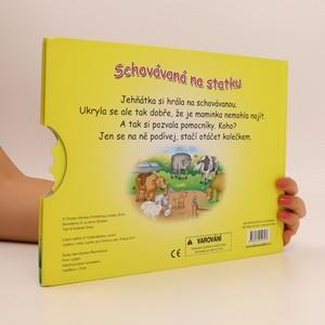 antikvární kniha Schovávaná na statku, 2011