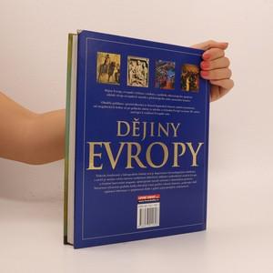 antikvární kniha Dějiny Evropy, neuveden