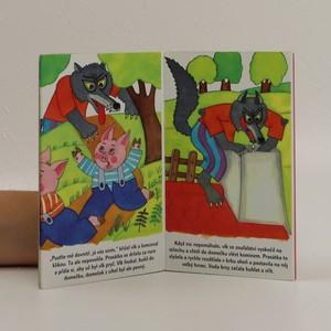 antikvární kniha Tři prasátka, neuveden