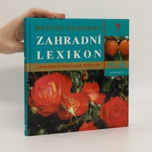náhled knihy - Bertelsmannův zahradní lexikon : zahradní a pokojové rostliny. 7, Pi-Sa