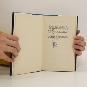 antikvární kniha Marianna. Tajné poslání, 1996