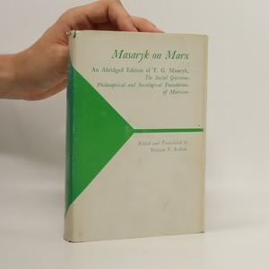 náhled knihy - Masaryk on Marx