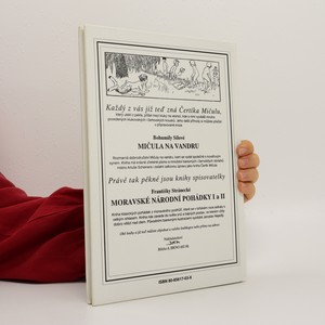 antikvární kniha Čertík Mičula, 1992