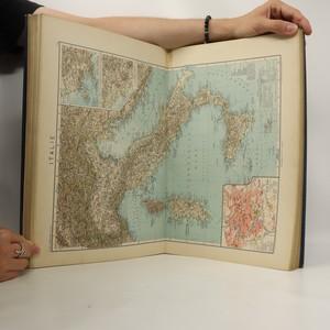 antikvární kniha Ottův zeměpisný atlas, 1924