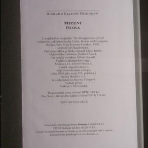 antikvární kniha Mizení Boha, 1999