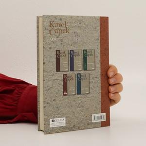 antikvární kniha Krakatit, 2010