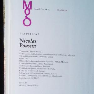 antikvární kniha Nicolas Poussin (Malá galerie. Svazek 38.), 1987