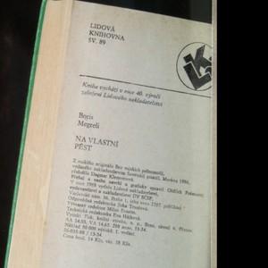 antikvární kniha Na vlastní pěst, 1988