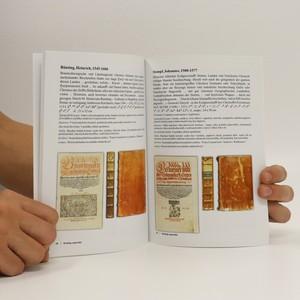 antikvární kniha Tisky 16. století v západočeských zámeckých knihovnách : výstava, 2014