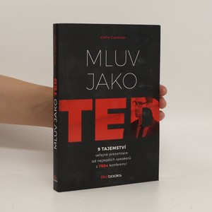 náhled knihy - Mluv jako TED