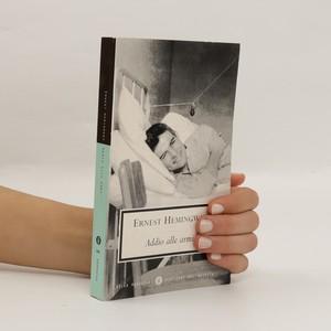 náhled knihy - Addio alle armi