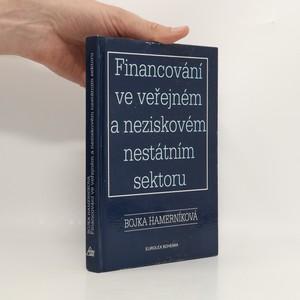 náhled knihy - Financování ve veřejném a neziskovém nestátním sektoru
