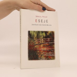 náhled knihy - Eseje. Zamyšlení nad Sainte-Beuvem