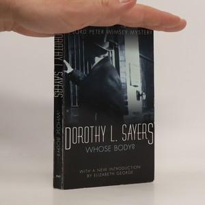 náhled knihy - Whose body?
