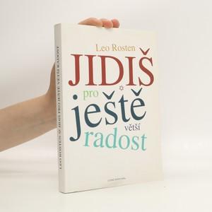 náhled knihy - Jidiš pro ještě větší radost
