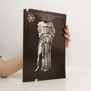 náhled knihy - Čtení o Antice. 1978-1979