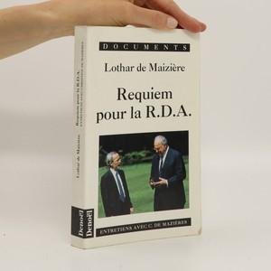 náhled knihy - Requiem pour la R.D.A. : Entretiens avec Christine de Mazières