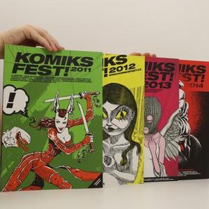 náhled knihy - Komiksfest! 2011, 2012, 2013, 2014 (4 svazky)