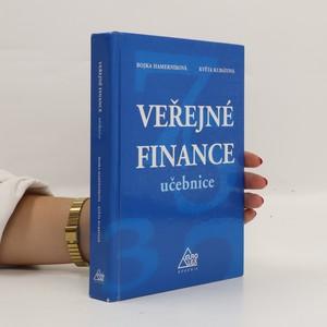 náhled knihy - Veřejné finance - učebnice