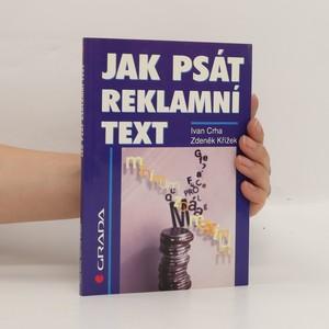 náhled knihy - Jak psát reklamní text