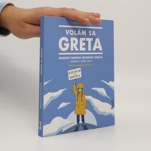 náhled knihy - Volám sa Greta (slovensky)