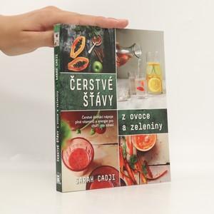 náhled knihy - Čerstvé šťávy z ovoce a zeleniny