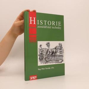 náhled knihy - Historie zemědělské techniky
