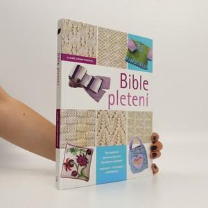 náhled knihy - Bible pletení