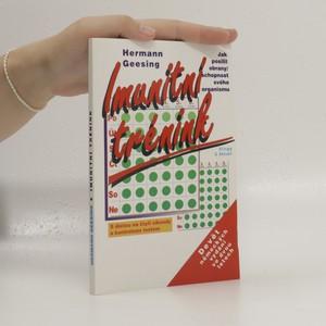 náhled knihy - Imunitní trénink