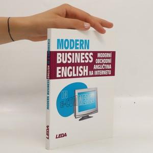 náhled knihy - Moderní obchodní angličtina na internetu = Modern Business English in E-Commerce