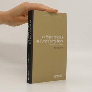 náhled knihy - Le régime politique de l'union européenne