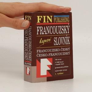 náhled knihy - Francouzsko-český, česko-francouzský slovník Francouzský kapesní slovník
