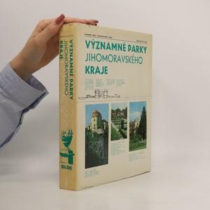 náhled knihy - Významné parky jihomoravského kraje