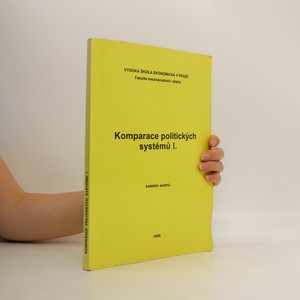 náhled knihy - Komparace politických systémů I.